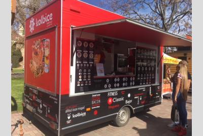 KOLBice food truck Veszprém