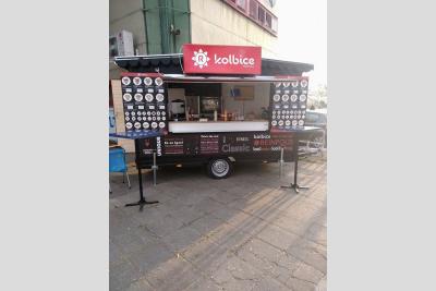 KOLBice food truck Tatabánya