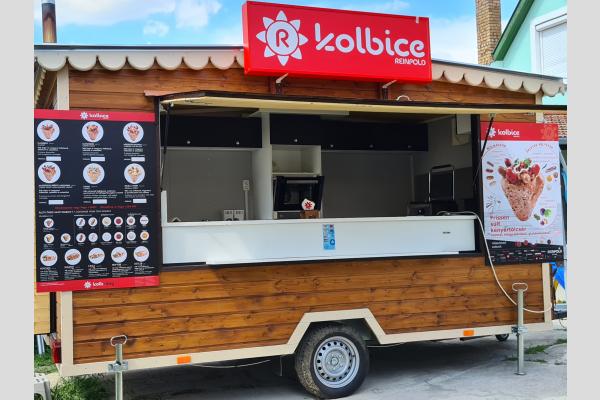 Kolbice food truck Szeghalom