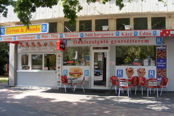 Roberto Gyros and Foods Szentes
